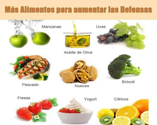 Alimenta tus defensas