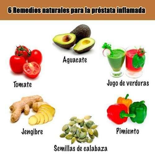 Remedios y Alimentos para la prostata