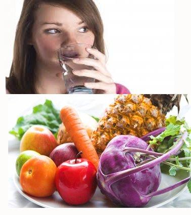 5 alimentos para eliminar líquidos