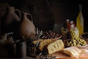 alimento de la antigua grecia