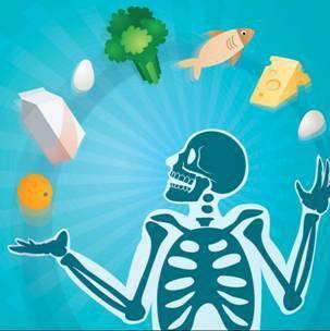 Alimentación para osteoporosis