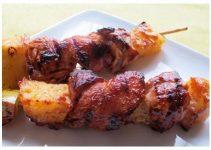 Receta de pollo envuelta en tocino con salsa barbacoa