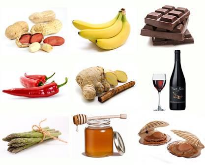 Los Alimentos vasodilatadores