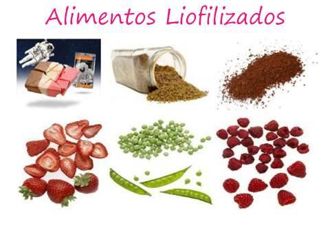 Los Alimentos Liofilizados