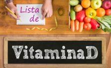 lista de Alimentos que contienen Vitamina D